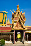 Palais grand, Cambodge. Images stock