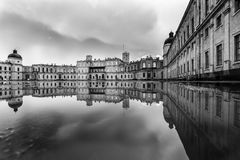 Palais grand dans Gatchina Image stock