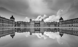 Palais grand dans Gatchina Images libres de droits
