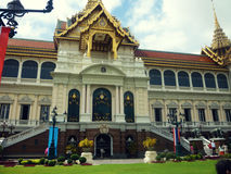 palais grand de Bangkok images stock