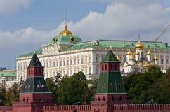 Palais grand de Kremlin, Moscou Image libre de droits