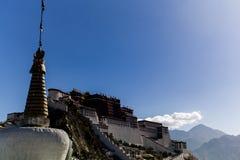 Palais grand de potala à Lhasa Le Thibet, Chine Image libre de droits
