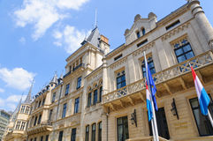 Palais Grand-Ducal in the City of Luxembourg. Palais Grand-Ducal of Luxembourg. The city of Luxembourg, also known as Luxembourg City, is a commune with city Stock Photos