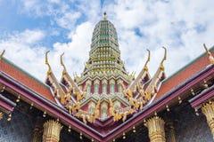 Palais grand et région de Wat Phra Kaew, Bangkok, Thaïlande Photos stock