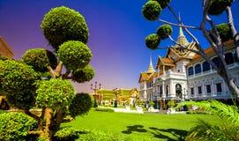 Palais grand royal à Bangkok Photographie stock