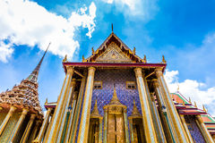 Palais grand royal à Bangkok, Asie Thaïlande Images stock