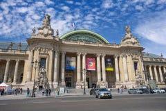 Palais grande em Paris Foto de Stock Royalty Free