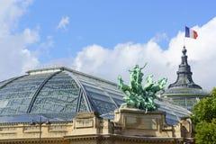 Palais grande em Paris, França Fotografia de Stock