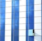palais gris réflexe de Bangkok Thaïlande dans une fenêtre Photo stock