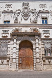 Palais historique de Ferrare. Photos stock