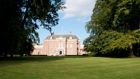 Palais i Zeist Royaltyfria Bilder