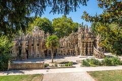 Palais Ideal du Facteur Cheval dans Hauterives - France Photos stock