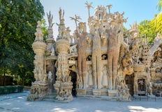 Palais Ideal du Facteur Cheval in Hauterives - France Royalty Free Stock Photos