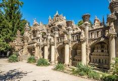 Palais Ideal du Facteur Cheval in Hauterives - France Royalty Free Stock Photo