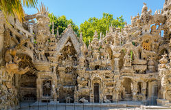 Palais Ideal du Facteur Cheval in Hauterives - France Royalty Free Stock Images