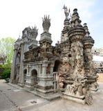 Palais idealt slott royaltyfria bilder