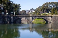 Palais impérial à Tokyo photo libre de droits