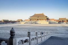 Palais impérial antique dans Cité interdite photos stock