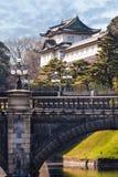 Palais impérial au Japon, Tokyo Image libre de droits
