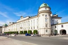 Palais impérial de Hofburg, Innsbruck photo stock