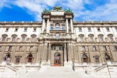 Palais impérial de Hofburg, Vienne image libre de droits