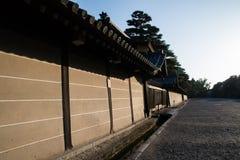 Palais impérial de Kyoto au printemps égalisant, Kyoto, Japon photographie stock