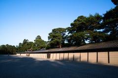 Palais impérial de Kyoto au printemps égalisant, Kyoto, Japon photos stock