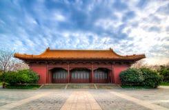 Palais impérial de Ming Dynasty à Nanjing, Chine Photographie stock libre de droits
