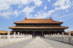 Palais impérial de Pékin Photos libres de droits