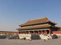 Palais impérial de Pékin images libres de droits