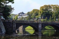 Palais impérial de Tokyo, Japon photographie stock libre de droits