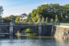 Palais impérial de Tokyo de pont de Seimon Ishibashi images stock