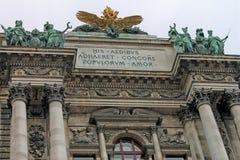 Palais impérial de Vienne Hofburg - Autriche image stock