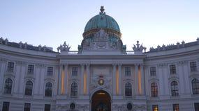 Palais impérial Hofburg à Vienne image stock