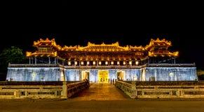 Palais impérial, Hue, Vietnam Photo stock