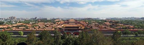 palais impérial interdit par ville Images stock