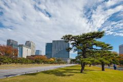 palais impérial Tokyo photographie stock