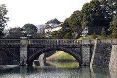 Palais impérial - Tokyo Images libres de droits