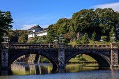 Palais impérial, Tokyo, Japon images libres de droits