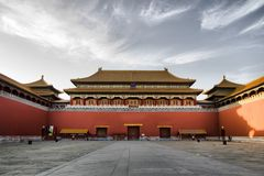 Palais impérial (ville interdite) photos stock
