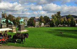 Palais impérial dans goslar Image stock