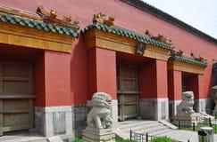 Palais impérial de Shenyang, Chine Image stock