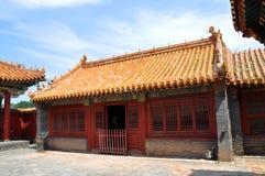 Palais impérial de Shenyang, Shenyang, Chine Photographie stock