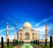 Le Taj Mahal Inde Photographie stock libre de droits