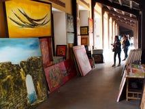 PALAIS INTERDIT, patrimoine culturel du monde en ville de HUE du VIETNAM Images libres de droits