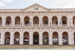 Palais législatif, capitale d'Asuncion, Paraguay beau chiffre dimensionnel illustration trois du sud de 3d Amérique très Photographie stock