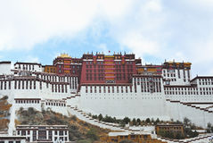 Palais Lhasa Thibet de Potala Images stock