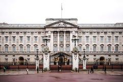 Palais Londres de Buckkingham en hiver Images libres de droits