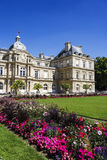 Palais Luxembourg, Paris, France against beautiful background Stock Photo