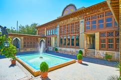 Palais médiéval à Chiraz, Iran Photographie stock libre de droits